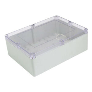 320mm X 240mm X 110mm Abs Clear Cover Dustproof Ip65 Electrical Junction Box