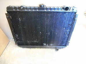 New Vintage 1975 1981 Dodge 6 Cylinder With A c Brass Copper Radiator