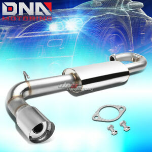 For 11 16 Scion Tc 4 stainless Steel Axleback Exhaust System removable Silencer