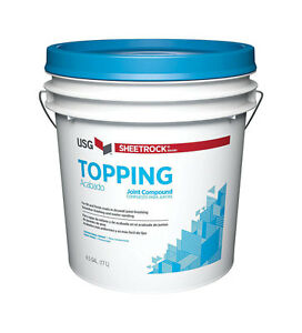 Sheetrock Topping Joint Compound 4 5 Gal Sand
