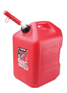 Midwest Can Plastic Gas Can 6 Gal