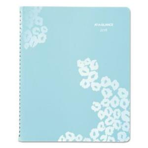 At a glance 523905 Wild Washes Weekly monthly Planner 8 1 2 X 11 Floral