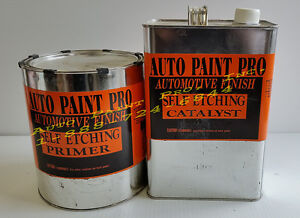 Self Etch Primer Catalyst Restoration Auto Car Paint