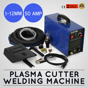 Plasma Cutter 50amp Cut 50 110v Digital Inverter Welder Cutting Machine