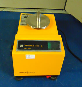 Sartorius Model 1106 Balance Scale Powers On Good Condition S722