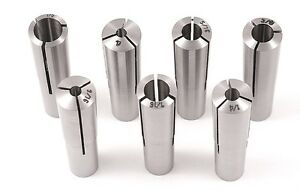 7 Pc Morse Taper Collet Set 3900 0850 new Ds