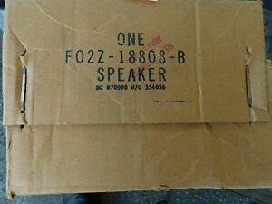 New Nos 1989 1992 Ford Probe Factory Stereo Radio Speaker Asby F02z 18808 B