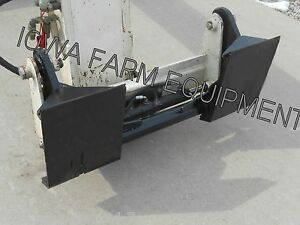 Telehandler Skidsteer Quick Attach Adapter Gehl john Deere manitou new Holland