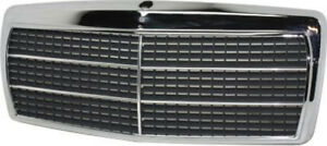 Chrome Grill Assembly For Mercedes benz 190d 190e Grille Mb1200103