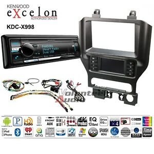 Kenwood Excelon Car Stereo Bluetooth Cd Player Dash Install Interface Antenna