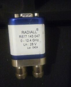 Radiall R577 143 047 Rf Coaxial Switch