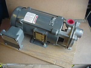 New Mth Stainless Turbine Pump T41c Ss 1hp 3ph Ex Proof Motor Burks Boiler Hvac