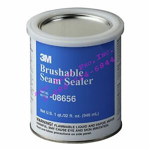 Auto Body Shop Paint Supplies 3m 08656 Brushable Seam Sealer For Joined Seams