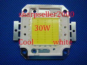 5p 30w High Power Bright Cool White Led Lights Lamp 1050ma 2800lm Flood Diy