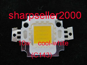 100p 10w Led Cool White High Power Bright 900lm Led Lamp Smd Bulb Chip 9 12v Dc