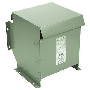 15 Kva Dry Type Distribution Transformer 3 Phase Isolation 240d 208y 120 Nema 3r
