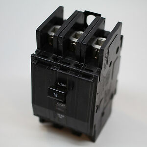 Circuit Breaker 15 Amp 3 Phase Panel Mount Bk Square D Sqd 315p