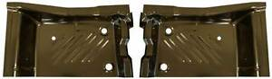 71 74 Barracuda Rear Floor Pan Footwell Area Pair