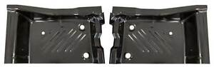 71 74 Challenger Rear Floor Pan Footwell Area Pair