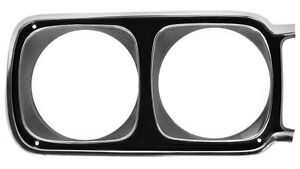 69 Road Runner Headlamp Bezel Rh