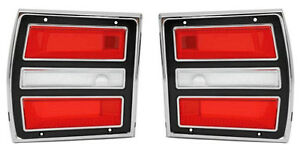 68 Dart Tail Lamp Assembies sold As A Pair
