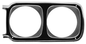 69 Road Runner Headlamp Bezel Lh