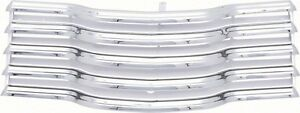 47 53 Chevy Truck Chrome Grille With Chrome Brackets