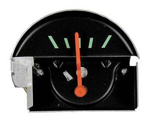 67 Camaro Console Black Face Oil Gauge Assembly
