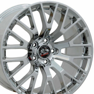 Oew 18x9 Rim Fits Ford Mustang 2015 Gt Pvd Chrome Wheel 10036