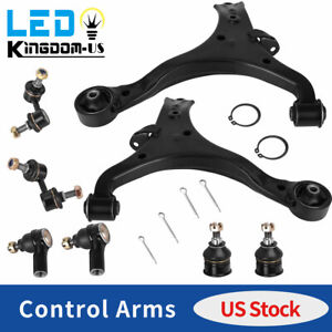 14pc Complete Front Suspension Control Arm Kit For 99 03 Chevy Blazer S10 4wd