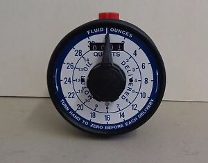 Hydraulics International Totalizer 061475 107 Volumetric Positive Displace Meter