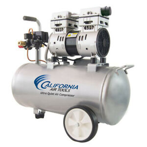 California Air Tools 8010 1 Hp 8 Gal Steel Tank Air Compressor Cat 8010 New