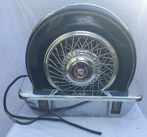 E G Continental Kit Spare Tire Cadillac Lincoln Hot Rat Rod Impala Eg Lowrider