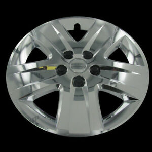 For 2011 Chevrolet Impala 17 Chrome Hub Caps Wheel Cover Replacement Set Of 4