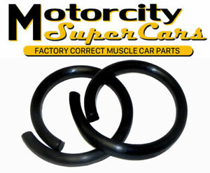 1964 66 Gm A Body Olds Rear Coil Spring Insulators Suspension No Embedded Rope