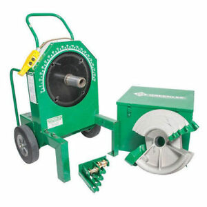 Greenlee Fce555rsc Electric Bender With 28008 1 2 In 2 In Rigid Shoes Recon