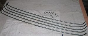Sunbeam Minx Vi Headliner Bow Set Bows W End Fittings Hillman Rootes Audax Orig