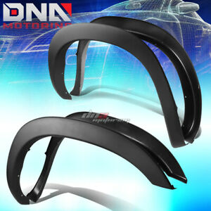 For 02 09 Dodge Ram Paintable Black Abs 4pcs Wheel Fender Flares Factory Style