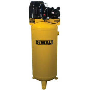 Dewalt 3 7 Hp 60 Gallon Oil lube Vertical Air Compressor Dxcmla3706056 New