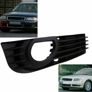For 05 07 Audi A8 D3 Pre Facelift Front Bumper Lower Right Fog Light Grill Cover