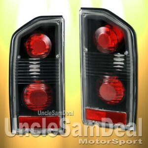 Suzuki Sidekick Tracker Altezza Clear Lens Black Tail Lights Direct Fit Pair