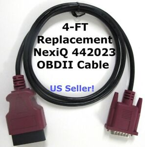 442023 Nexiq Usb Link 1 purple Obdii Cable For 2013 Newer Volvo Mack Wvl2