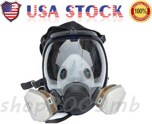 Us 15 In 1 Facepiece Respirator Painting Spraying For 6800 Full Face Gas Mask