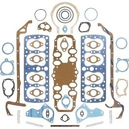 New 1946 48 Ford Flathead Complete Engine Gasket Set 59a 6008 ch