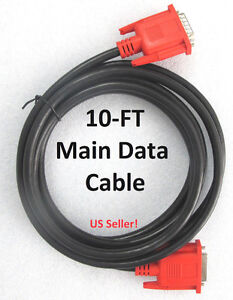 10ft Main Test Data Cable For Autel Maxidas Ds708 Diagnotic Scanner New Design