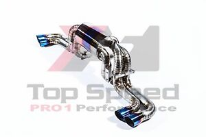 Ferrari 360 Modena 99 05 Top Speed Pro 1 Full Titanium Exhaust System