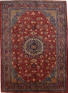 Awesome Thick Pile S Antique Sarough Mahal Persian Rug Oriental Area Carpet 7x10