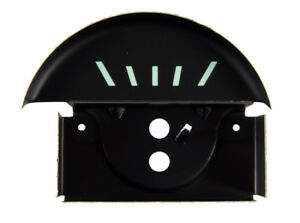 67 Camaro Console Oil Gauge Fuel Face