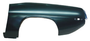 72 74 Barracuda Quarter Panel Skin Lh