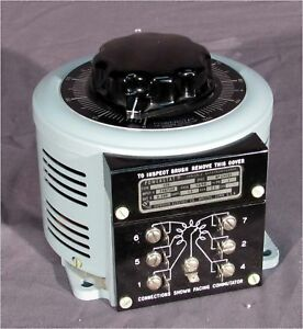 New Superior Powerstat 240v Type 226 Variac 240v In 0 280v Out